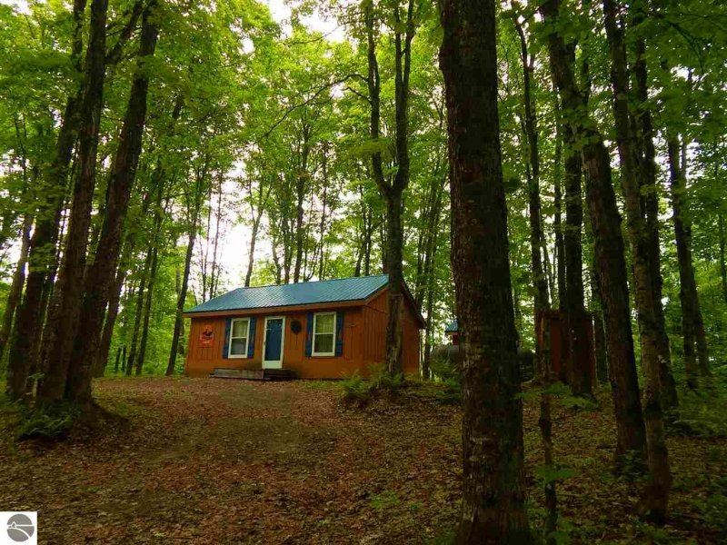 Great Upper Peninsula Hunting Camp Land For Sale