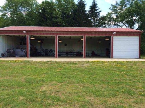 5 Bay Garage Workshop 12 Acres : Amity : Allegany County : New York