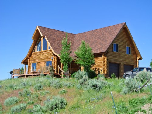 Hams Fork Cabin : Kemmerer : Lincoln County : Wyoming