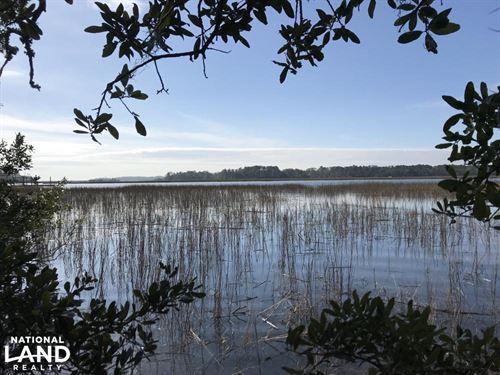 Knowles Island Deepwater 1.20 Acre : Ridgeland : Jasper County : South Carolina