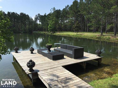 Jeff Hamilton Lake & Home Tract : Mobile : Alabama