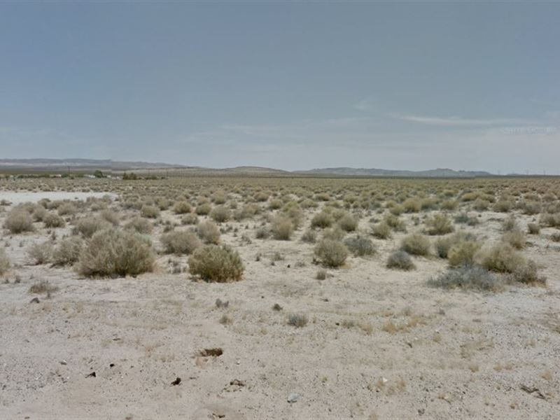 5 Acres In San Bernardino, Ca : Hinkley : San Bernardino County : California