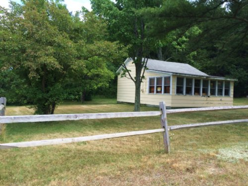 65 Acres With Camp Near River : Corning : Steuben County : New York