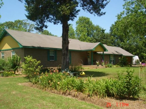 4bd/2.5ba Home On 4.8 Acres : Noxapater : Winston County : Mississippi