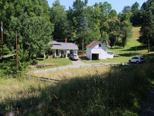 Blue Ridge Mountain Mini Farm : Elk Creek : Grayson County : Virginia