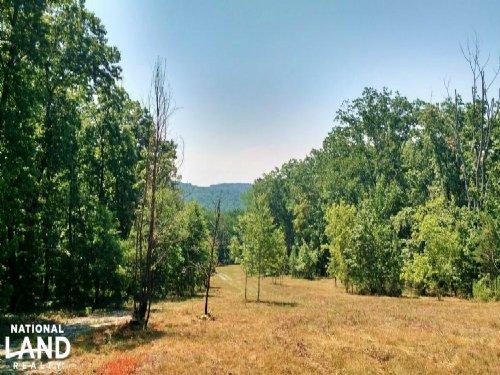 Mountain View Property With Wildlif : Clarkesville : Habersham County : Georgia