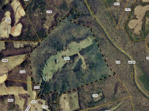 69+ Acres Ideal For Hunting : South Boston : Halifax County : Virginia