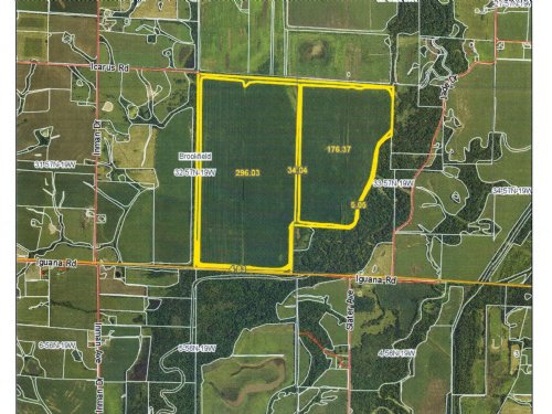 520 Acres M/L Bottom Farm : Brookfield : Linn County : Missouri