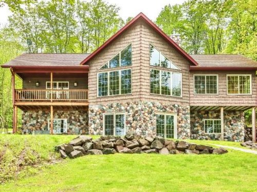 Custom Built 5br/3ba Lake Home : Winchester : Vilas County : Wisconsin
