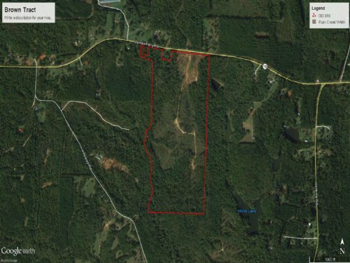 100 Ac Recreational / Timber Tract : Forsyth : Monroe County : Georgia