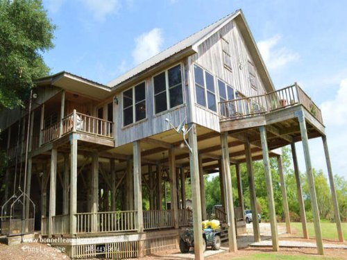 Waterfront Camp For Sale : Marksville : Avoyelles Parish : Louisiana