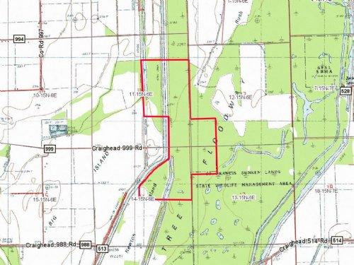 Sunken Lands Property : Brookland : Craighead County : Arkansas