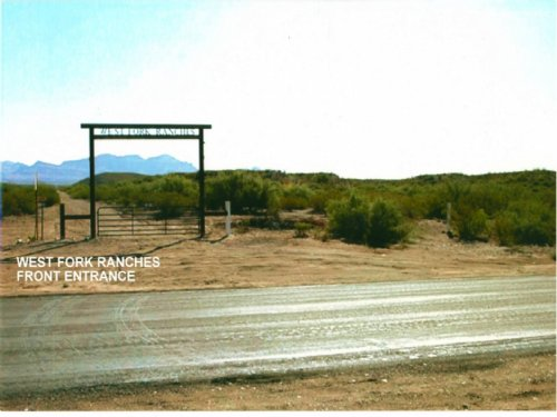 West Fork Ranch Lots : Presidio County : Texas