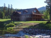 The Emily A Wildlife Lodge : Seeley Lake : Missoula County : Montana