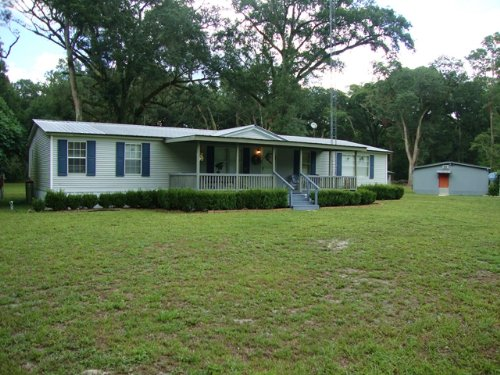 3/2 Dwmh On 4.8 Acres 772297 : Old Town : Dixie County : Florida