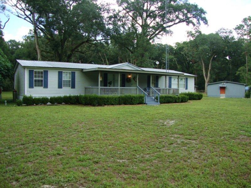 3/2 Dwmh On 4.8 Acres 772297 : Old Town : Dixie County : Florida