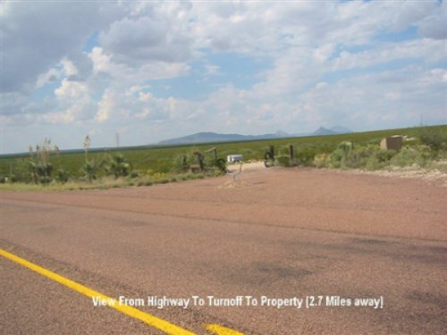 5 Acre Vista Heights : Dell City : Hudspeth County : Texas