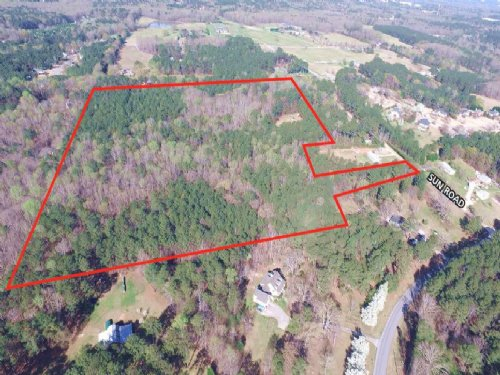 38.69 Acres Sun Road : Fayetteville : Fayette County : Georgia