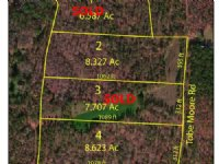 8 Acre Wooded Home Site : Flovilla : Butts County : Georgia
