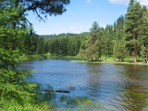 Elbow Lake Ranch : Seeley Lake : Missoula County : Montana