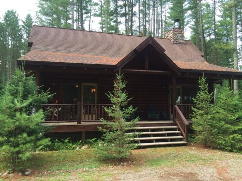 Ash Creek Cabin : Ohio : Herkimer County : New York
