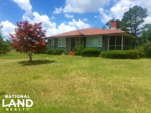Country House With 53 Acres : Box Springs : Talbot County : Georgia