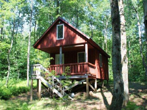 Cabin On 6 Acres Near Salmon River : Redfield : Oswego County : New York