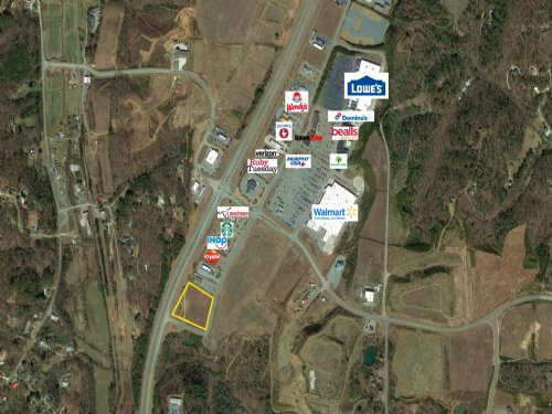 Commercial Lots On Highway 515 : Ellijay : Gilmer County : Georgia