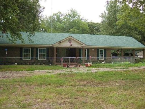 Home On 20+ Acres (#30221) : Clarksville : Red River County : Texas