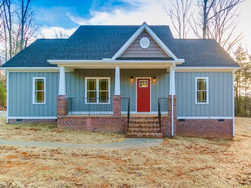 New Construction On 6.85 Acres : Gordonsville : Louisa County : Virginia