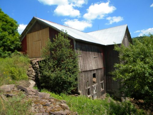 50 Acres With Barn In Bovina, Ny : Bovina Center : Delaware County : New York