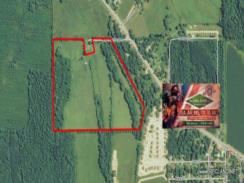 52.00 Acres Pasture Land : Winnsboro : Franklin Parish : Louisiana
