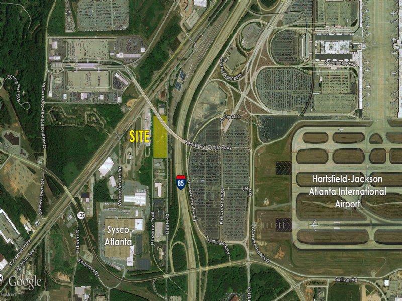 5 Acres - Near Atlanta Airport : College Park : Fulton County : Georgia