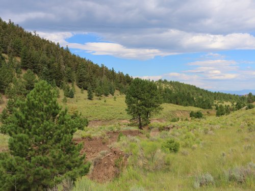 West Side - The General And The Mai : Westcliffe : Custer County : Colorado