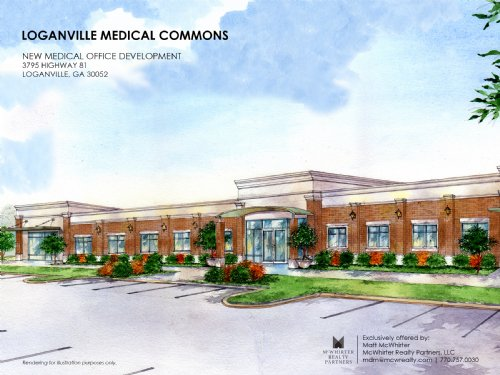 New Medical Office Dev For Sale : Loganville : Walton County : Georgia