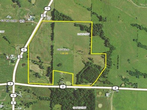 130 Acres, Hwy C : Huntsville : Randolph County : Missouri