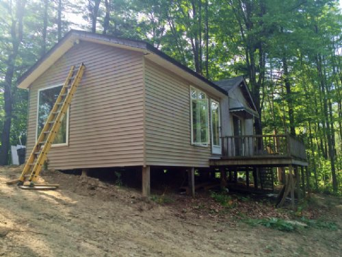 Cabin Near Letchworth State Park : Portage : Livingston County : New York