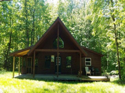 On Carleton Pond : Camden : Oneida County : New York
