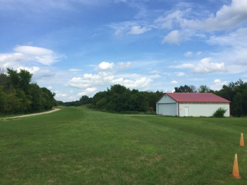 Private Air Strip & Home : Ferryville : Crawford County : Wisconsin