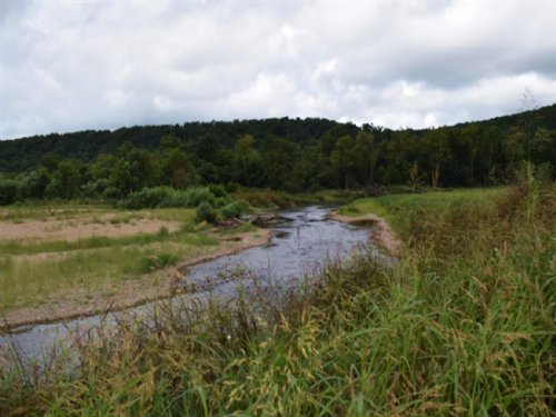 248 M/L Acres W. Creek Frontage : Tahlequah : Cherokee County : Oklahoma
