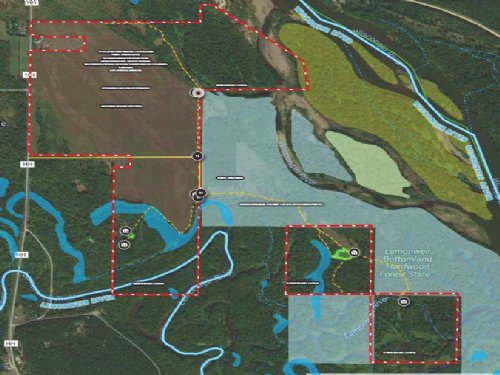 +/-355 Acres Hunting & Conservation : Mauston : Juneau County : Wisconsin