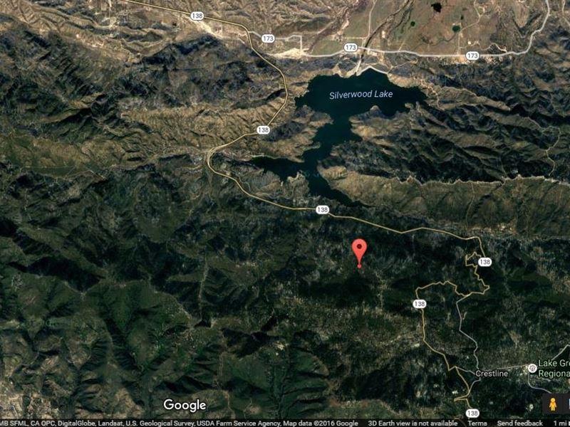 .06 Acres In Crestline, CA : Crestline : San Bernardino County : California