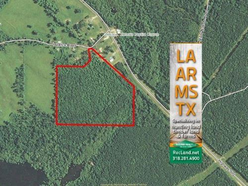 30.1 Ac - Small Hunting Tract Or Ru : Georgetown : La Salle Parish : Louisiana
