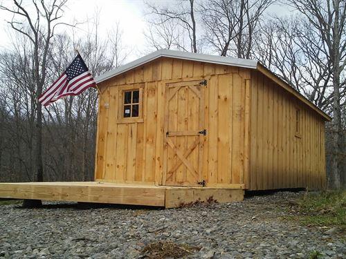 Walters Road Cabin Near Vinton Oh : Vinton : Gallia County : Ohio
