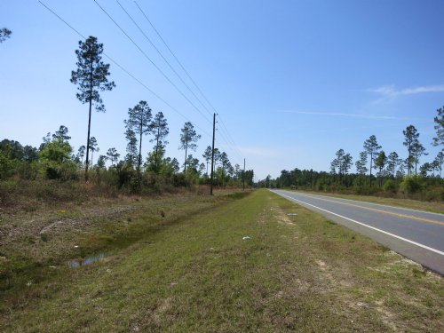 70.74 Ac With Industrial Zoning : Starke : Bradford County : Florida