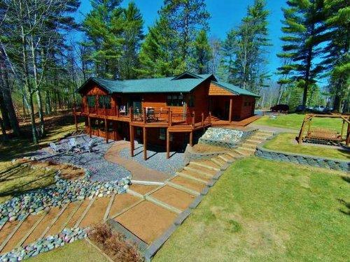 Immaculate Malby Lake Property : Minocqua : Oneida County : Wisconsin