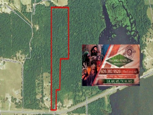 27.4 Ac - Wooded Tract For Home Sit : Anacoco : Vernon Parish : Louisiana