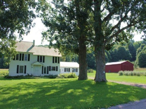 124 Ac. W/ Farmhouse Near Watertown : Watertown : Jefferson County : New York