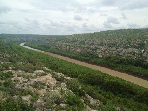 Rio Grand & Pecos River Access 349a : Langtry : Val Verde County : Texas