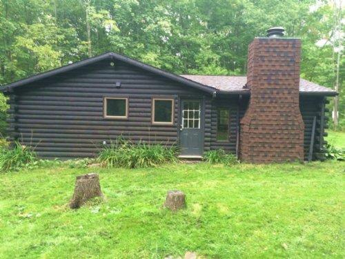Home Near Rushford Lake & State : Rushford : Allegany County : New York